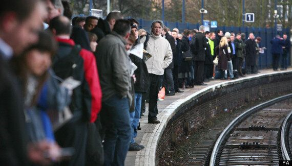 Standing Room Only On For Many Travellers On London-Bound