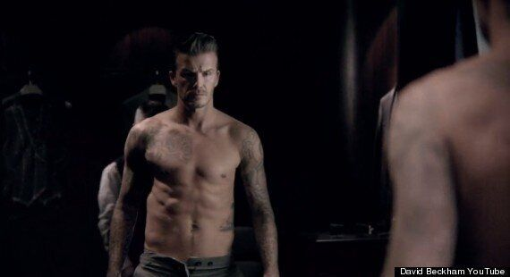 David Beckham Goes Topless In James Bond-Like Advert For New Perfume 'Classic'
