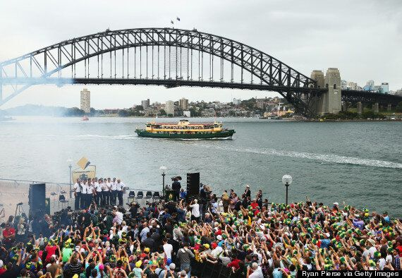 The Ashes: Australia Celebrate Victory Over England With Thousands Of Fans