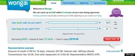 Wonga V The Church: Comparing Interest Rates Of Payday Loans And Credit