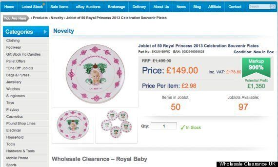 Whoops! Company Produces 5,000 Royal Princess Souvenir