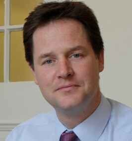 Did Nick Clegg Receive a Spine For Christmas, or Just a Second