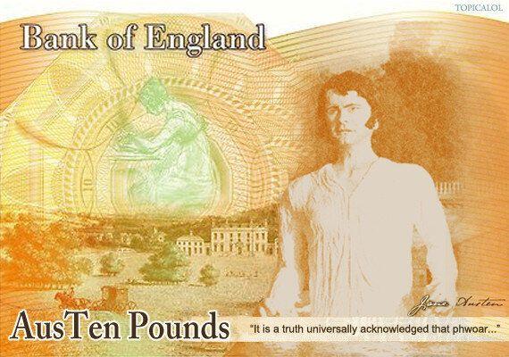 Jane Austen £10 Note Unveiled