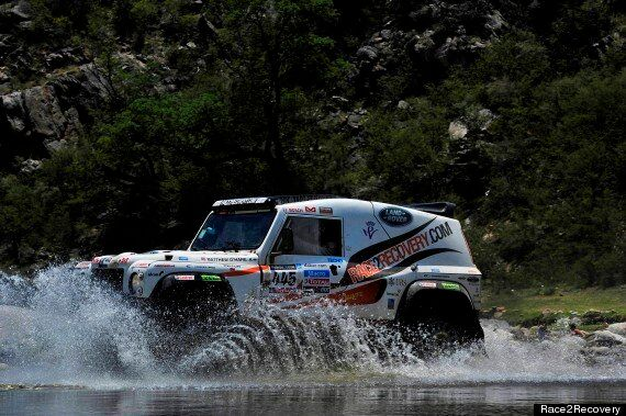 Dakar Rally: Race2Recovery Team Cars Forced To