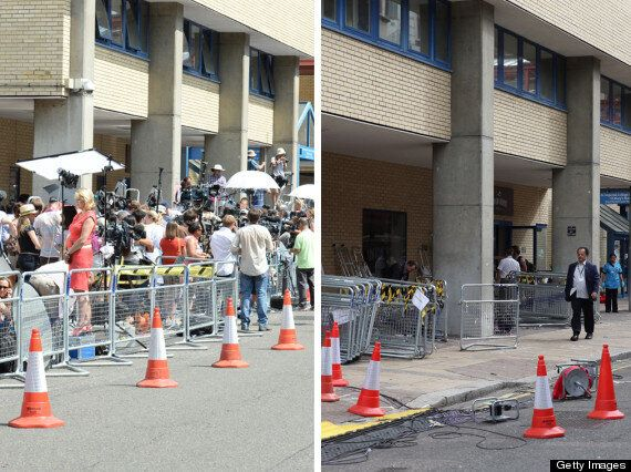 Royal Baby Media Coverage: Before And After Pictures Show The