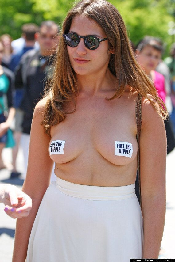 #FreeTheNipple: Topless Protest Against Internet Censorship Follows Scout Willis Instagram Challenge...