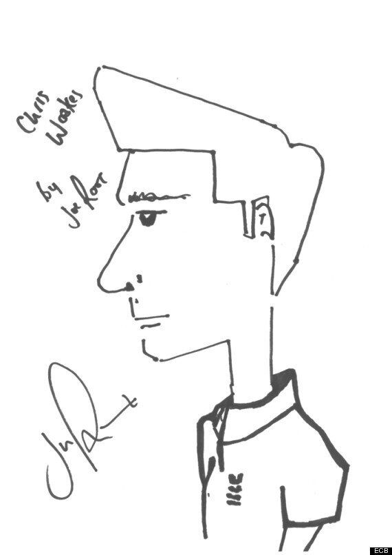 Ashes 2013: England Cricketers' Draw Portraits Of Each Other