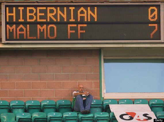 Hibernian Demolished 0-7 By Malmo In Europa League