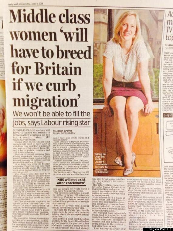 Stella Creasy, Labour MP, Accuses Daily Mail Of 'Everyday Sexism' Over Breed For Britain