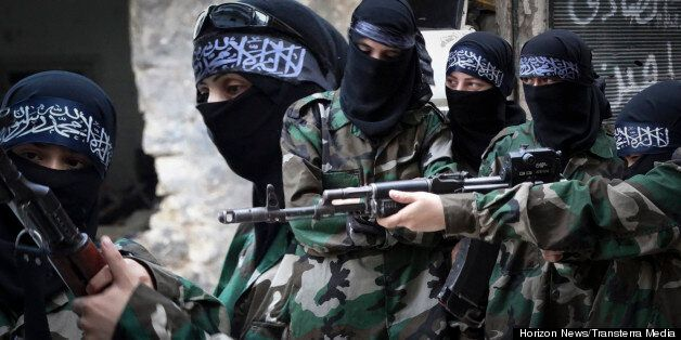 Syria's Female Rebels: The Islamist Aleppo Brigade Fighting Assad's Forces