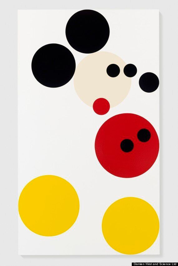 Damien Hirst's Mickey Mouse To Be Auctioned For Kids Company Charity