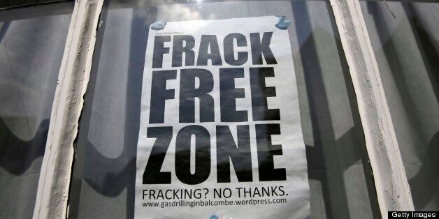 Residents are worried about the environmental impact of the fracking