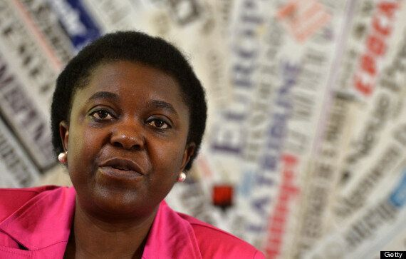 Italy's First Black Minister Cecile Kyenge Has Bananas Thrown At Her During