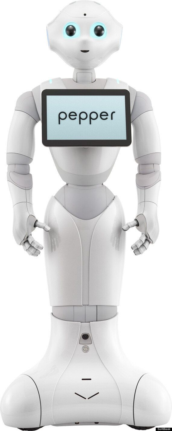 Pepper Robot Knows When You're Sad, Will Give You A