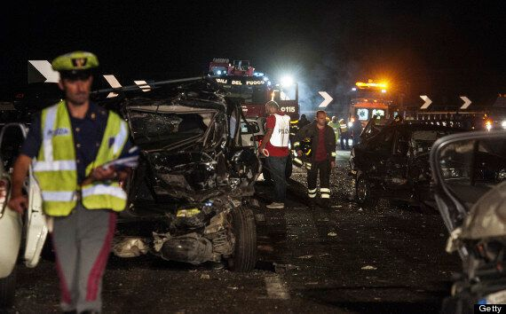Italy Coach Crash Kills 38 As Bus Carrying Families Plunges Into Ravine Near Avellino (GRAPHIC