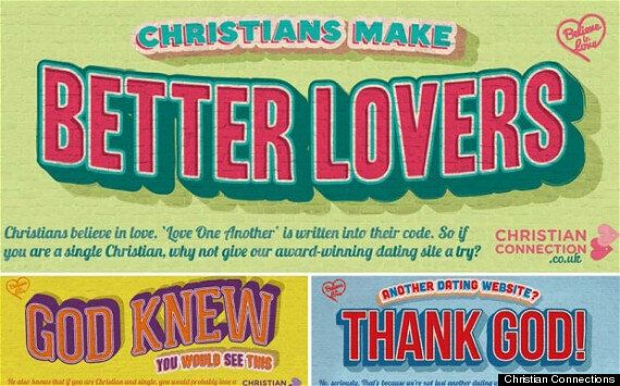 Christian Connections 'Better Lovers' Underground Tube Advert Appears To Make Some Bold