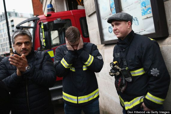 Fire Fighters Cry As Boris Johnson Orders London Fire Stations To Close