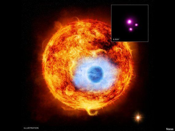 Nasa Captures Stunning X-Ray Evidence Of Exoplanet Eclipse