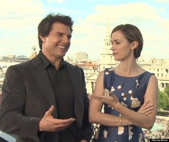Tom Cruise And Emily Blunt Talk About Their Sci-Fi Blockbuster 'The Edge Of Tomorrow'