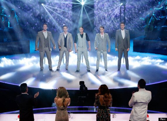 'Britain's Got Talent' Winners Collabro Celebrate 2014 Victory