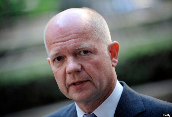 Hague urges Egypt to free