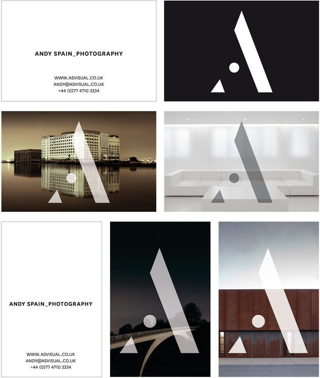 New Identity Design for Architectural Photographer Andy