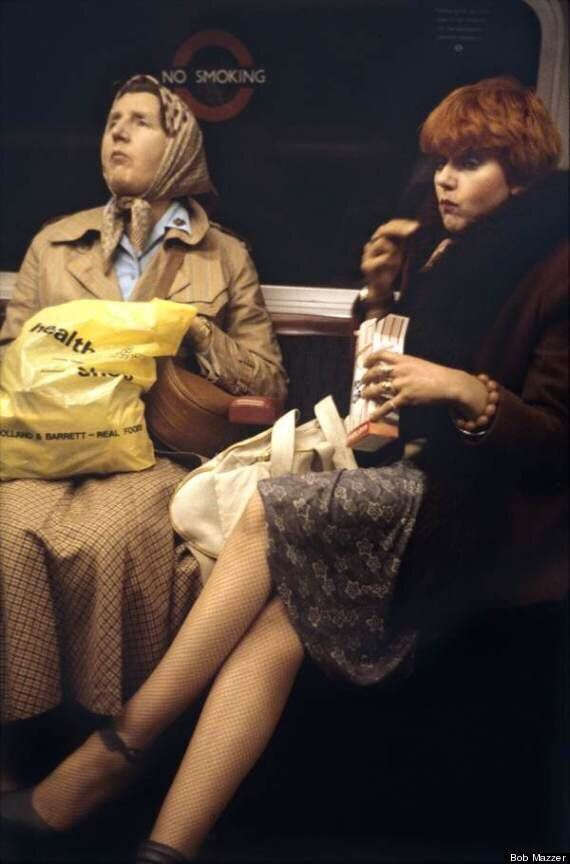 London Underground Tube In The 1970s And 1980s By Bob Mazzer