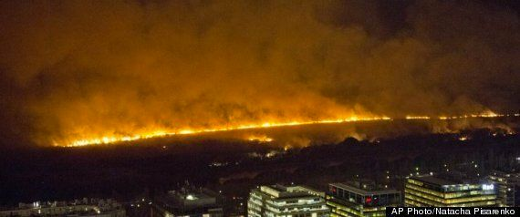 Buenos Aires Fire Rages In Nature Reserve