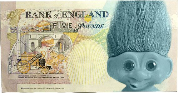 Trolls Win Campaign To Get A Troll On £5