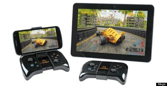 Android Gamepads: Moga Gaming System Vs. Gametel
