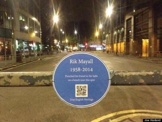 Rik Mayall Gets The Best Blue Plaque
