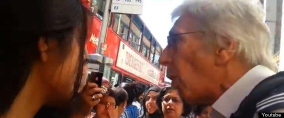 Southall Black Sisters Confront UKBA Officers In Immigration Protest
