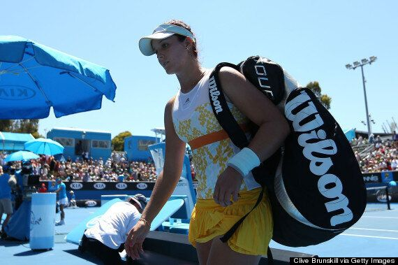 Australian Open: Laura Robson And Heather Watson Out In First Round