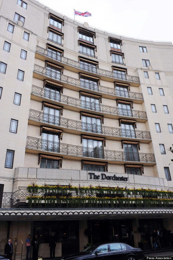 Dorchester Hotel Hit By Moped Smash-And-Grab