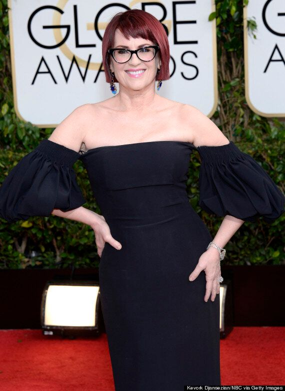 Will & Grace's Megan Mullally Is Unrecognisable At Golden Globes