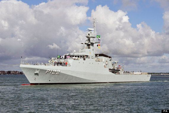 Brazil's Newest Warship Leaves UK On 10,000 Mile