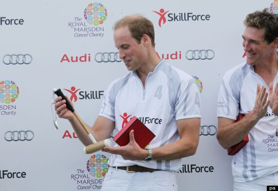 Prince William On The Royal Nappy Run
