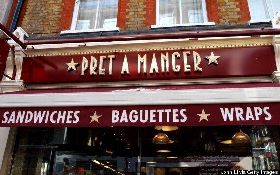 Defence Minister Anna Soubry Breaks Up Fight Between Three Men At Pret A