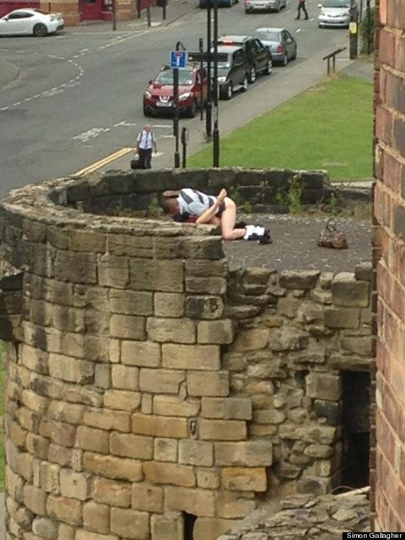 Sex Snap Of Newcastle Couple At It In Public Goes Viral On Twitter