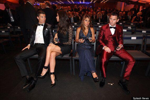 Cristiano Ronaldo Wins FIFA Ballon d'Or And Also 'Steals' Messi's Girlfriend Antonella Roccuzzo In Viral...