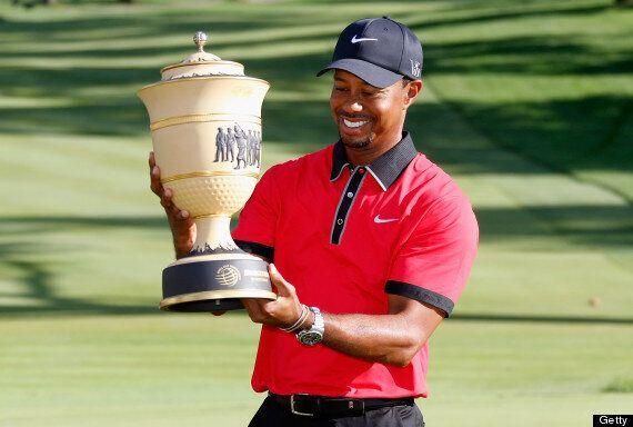 Tiger Woods Wins WGC Bridgestone Invitational
