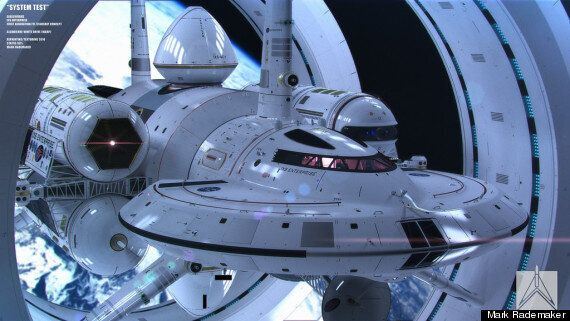 NASA's Warp Drive Space Craft Concept Is Beyond
