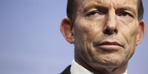 CANBERRA, AUSTRALIA - SEPTEMBER 16: Prime Minister-elect Tony Abbott announces his ministery at Parliament...