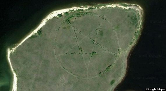 Conspiracy Theorists Get To Work On Giant Google Maps Kazakhstan Pentagram- But Has The Mystery Been