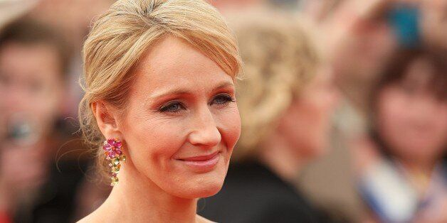 JK Rowling arriving for the world premiere of Harry Potter And The Deathly Hallows: Part