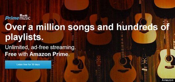 Amazon Streaming Music Service Launches: Free For Prime