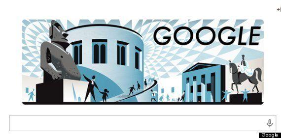 British Museum Google Doodle Celebrates 255th Anniversary Of London