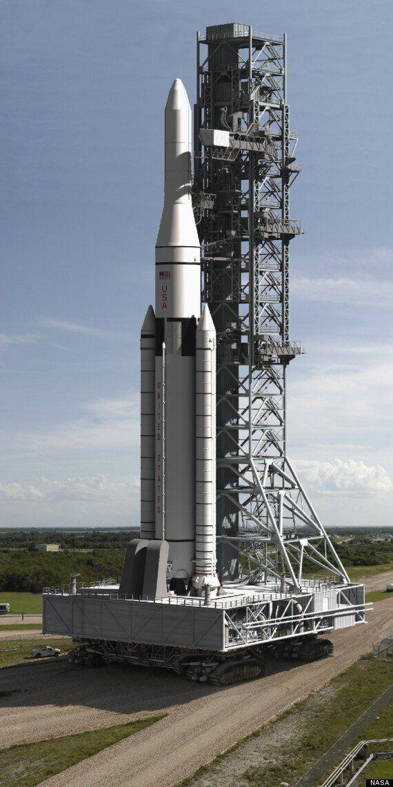 NASA Unveils Amazing Renders Of Its New, Massive SLS