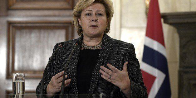 Norway's Prime Minister Erna