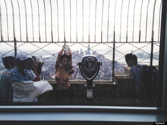 Topless Model Shoot On Empire State Building Leads To $1m Lawsuit For Allen Henson (NSFW